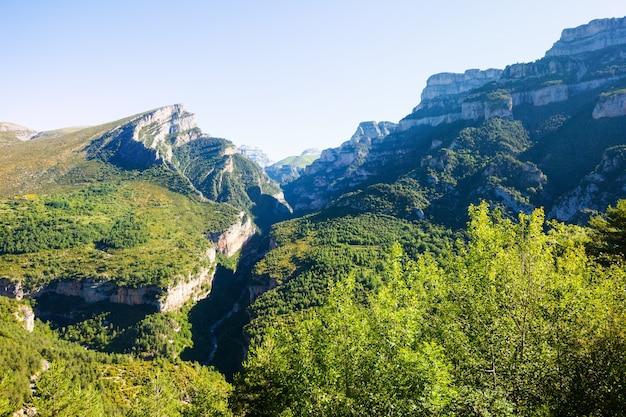 Pyreneeën bergen landschap Gratis Foto