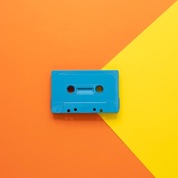 Radioconcept met oude cassette Gratis Foto