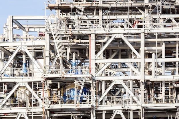 Raffinaderij plant Premium Foto