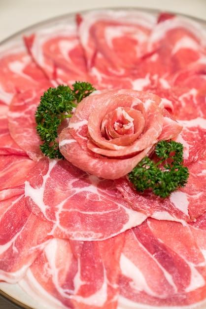 Rauw rundvlees Premium Foto
