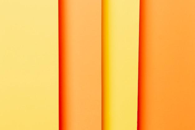 Recht patroon met oranje tinten Gratis Foto