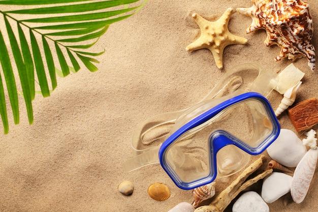 Reizen en toerisme op het strand Premium Foto