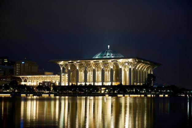 Religie nacht longexposure kenmerkende gebouw Gratis Foto