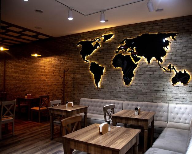 Restaurant open ruimte nieuw concept Gratis Foto