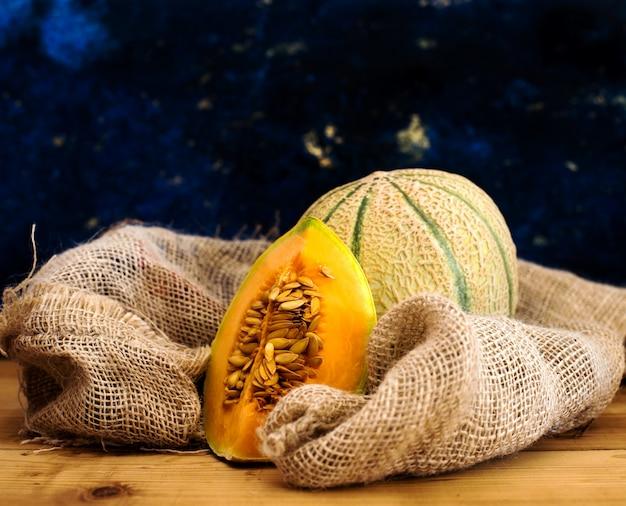 Rijpe meloen Premium Foto