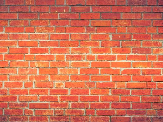 Rode bakstenen muur eenvoudige mooie uitstekende zolderstijl van de achtergrond van de decoratietextuur Premium Foto