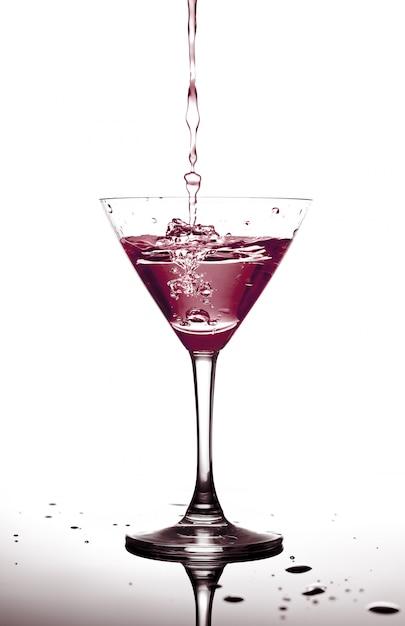 Rode cocktail Premium Foto