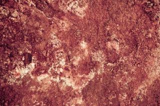 Rode geothermische modder oppervlak Gratis Foto