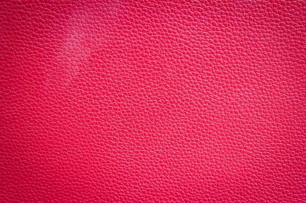 Rode lederen textuur achtergrond Premium Foto