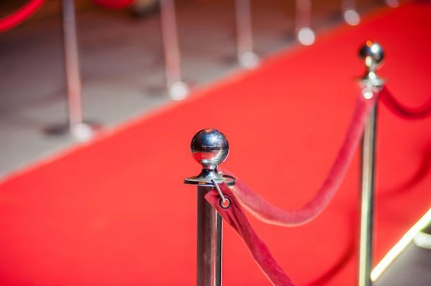 Rode loper Premium Foto