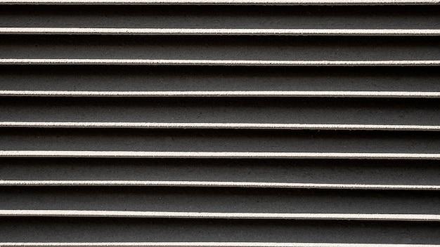 Roestvrij metalen horizontale lijnen achtergrond Gratis Foto