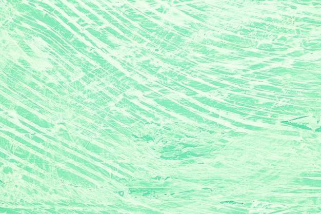 Rommelige groene geschilderde achtergrond Gratis Foto