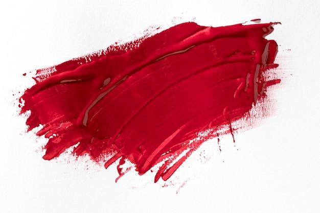 Rood penseelstreekeffect Premium Foto