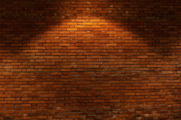 Roodbruine bakstenen muurachtergrond Gratis Foto