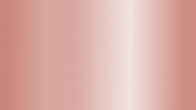 Rose goud metaalfolie abstracte achtergrond met zachte glanzende ruimtetextuur voor kerstmis en valentijnskaart. Premium Foto