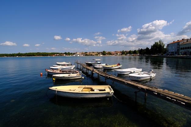 Rovinj zomertijd in de kust van kroatië Gratis Foto