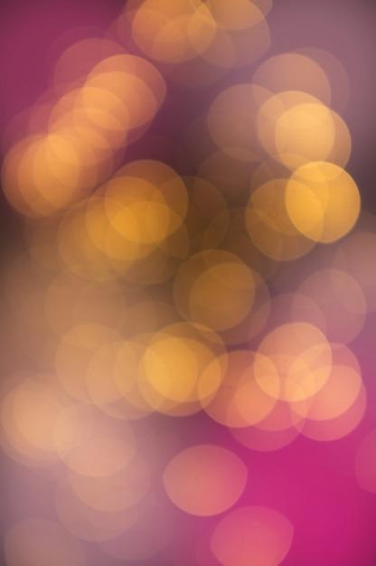 Roze bokeh achtergrond Premium Foto