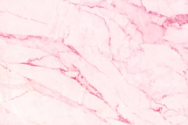 Roze marmeren textuurachtergrond in natuurlijk ontwerp Premium Foto