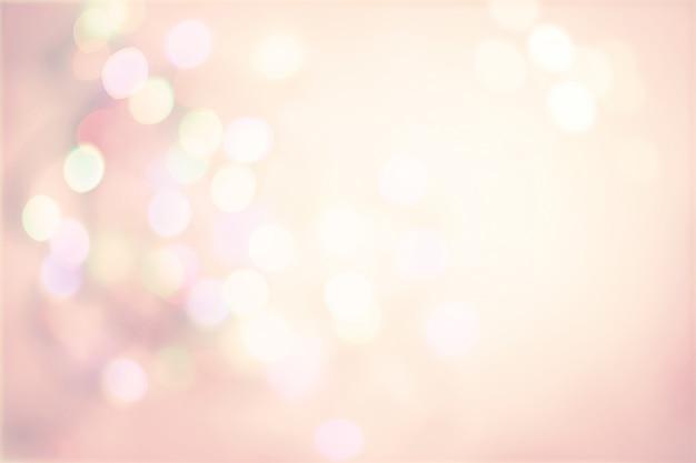 Roze pastel vintage achtergrond met defocused vlekken licht boke Premium Foto