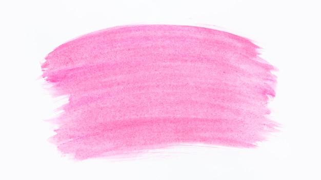 Roze penseelstreken aquarel Premium Foto