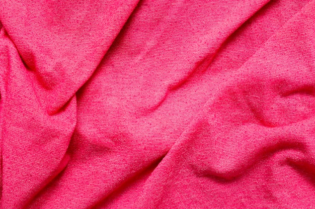 Roze stof close-up achtergrond Gratis Foto
