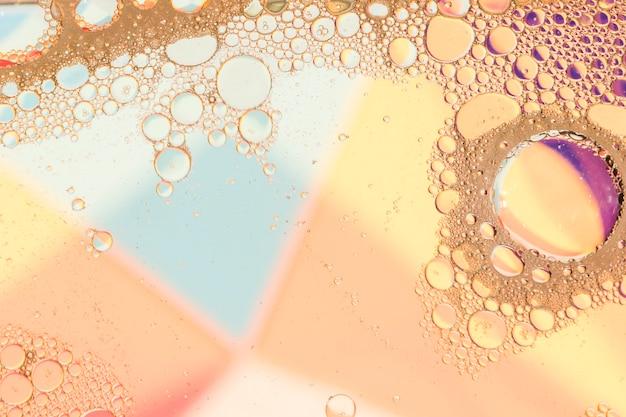 Ruimte kopiëren warme kleuren olieframe Gratis Foto