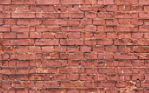 Ruimte van het de textuurexemplaar van de grunge de bruine bakstenen muur Gratis Foto