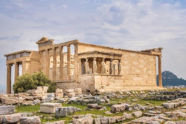 Ruïnes op de akropolis Gratis Foto