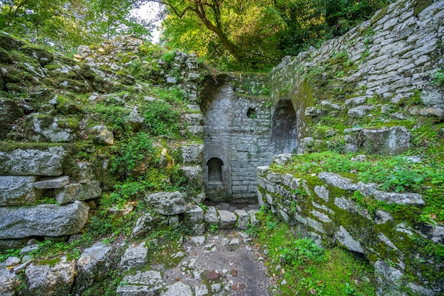 Ruïnes van de oude stad in butrint. albanië. Premium Foto