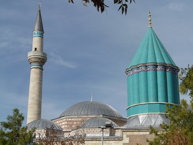 Rumi jalal mausoleum moskee mevlana advertentie din konya Gratis Foto