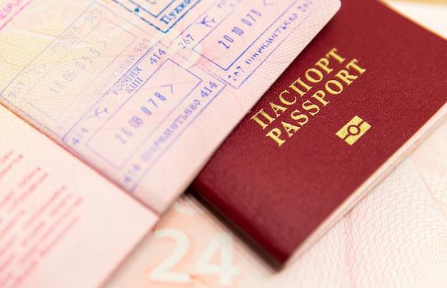Russisch paspoort Premium Foto
