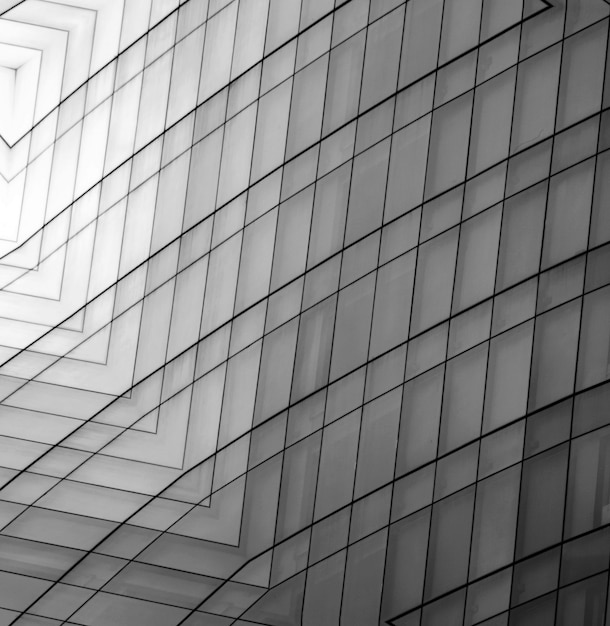 Samenvatting van geometrische grijze achtergrond Premium Foto