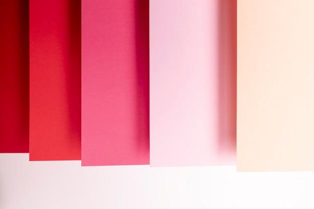 Schaduwen van rood patroonclose-up Gratis Foto