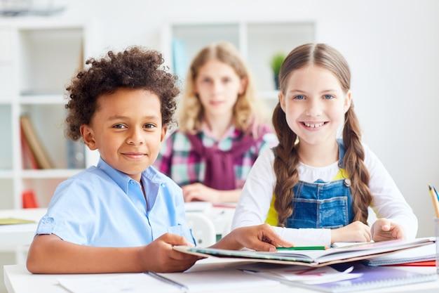 Schoolvrienden Gratis Foto