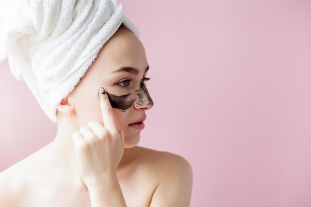 Schoonheid cosmetische peeling Premium Foto