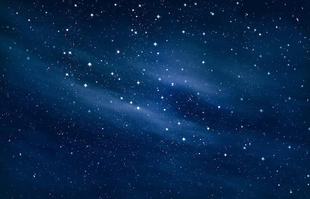 Schoonheid van de nachtelijke hemel Premium Foto