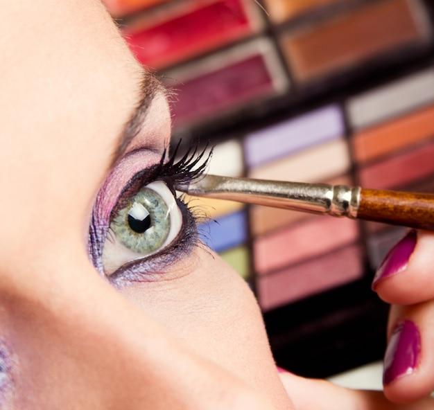 Schoonheids make-up Gratis Foto