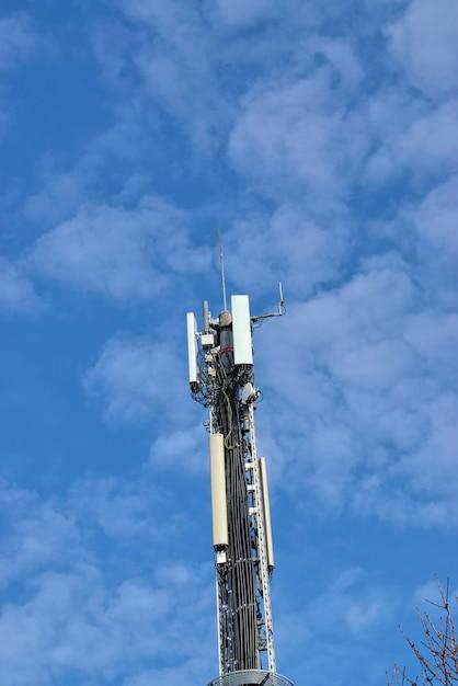 Sectorantennes voor basisstations voor mobiele telefoons. bts - base transceiver station Premium Foto
