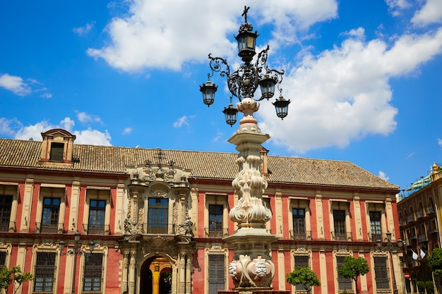 Sevilla palacio arzobispal van sevilla andalusië Premium Foto