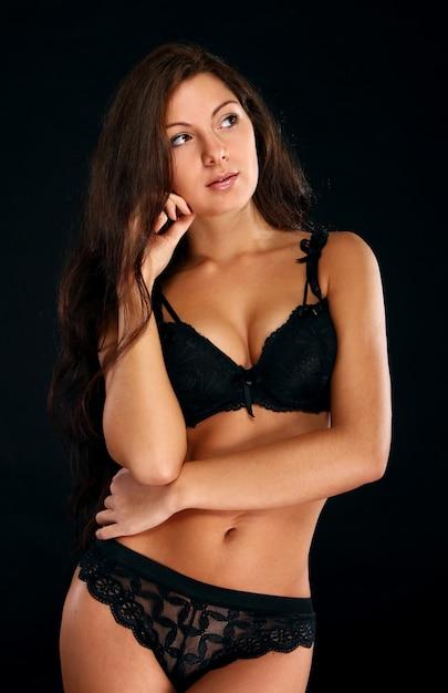 Sexy vrouw in lingerie Gratis Foto