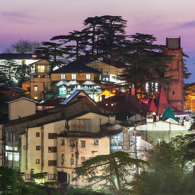 Shimla in india Premium Foto