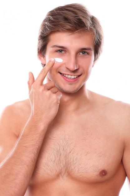 Shirtless man model Gratis Foto