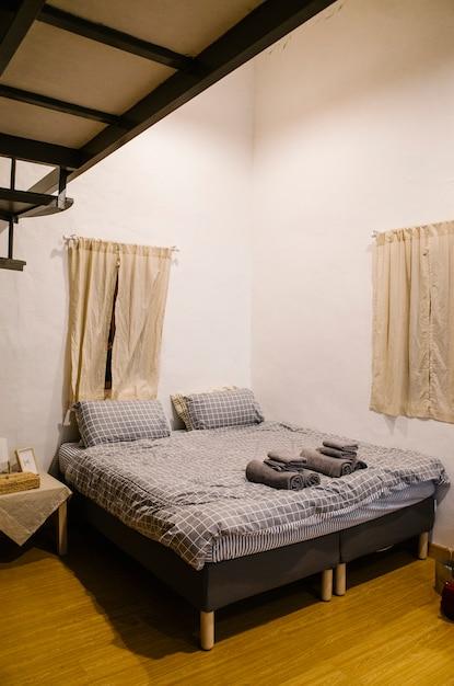Slaapkamer schattige stijl Gratis Foto