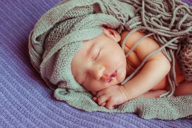 Slaapkamer zogen europa babyhood nurseling Premium Foto