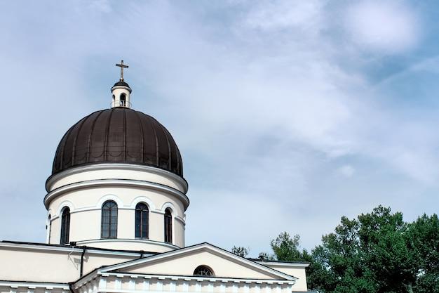 Sluit omhoog op de mooie kathedraal van christus Gratis Foto