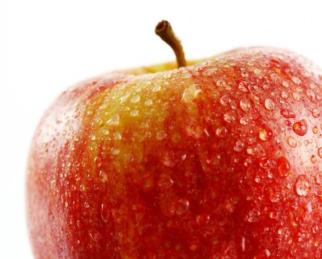 Sluit omhoog van verse appel Gratis Foto
