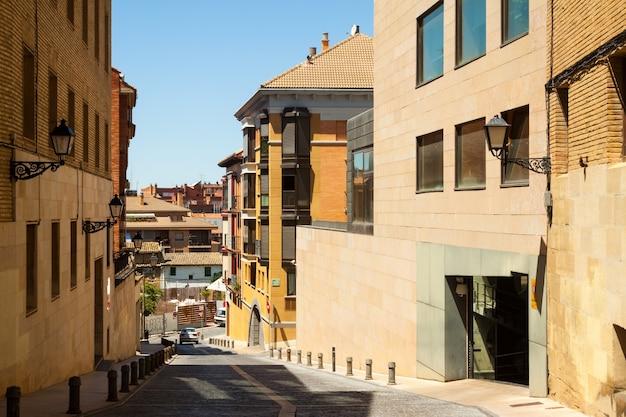 Smalle straat van huesca Gratis Foto