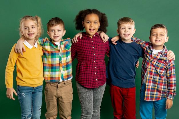 Smiley jonge kinderen Gratis Foto