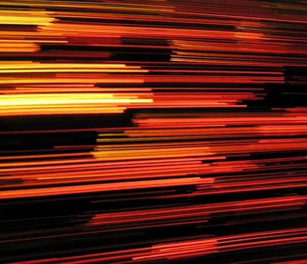 Snelheid lichten effect achtergrond abstract in zwarte en rode kleuren Gratis Foto