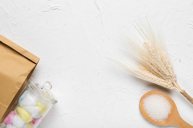 Spa concept hygiëne cosmetische producten Gratis Foto